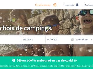 CampingsandCo - Séjour 100% remboursé en cas de COVID-19