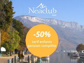Neaclub - -50% tarif enfant pension complète
