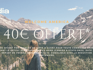 Worldia - WELCOME AMERICA : 40€ offert